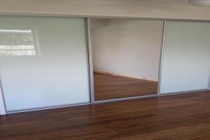 Glass and Mirror Sliding Wardrobe Doors Sunshine Coast