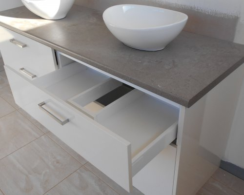 Dual Basin Bathroom - Bathroom Renovations Sunshine Coast