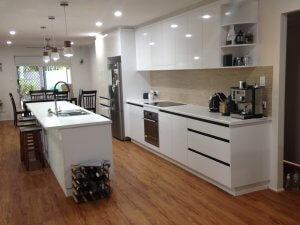 Kitchen renovation - Caloundra Queensland