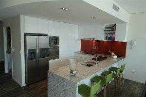 Marble Kitchen Bench top - Sunshine Coast Kitchens