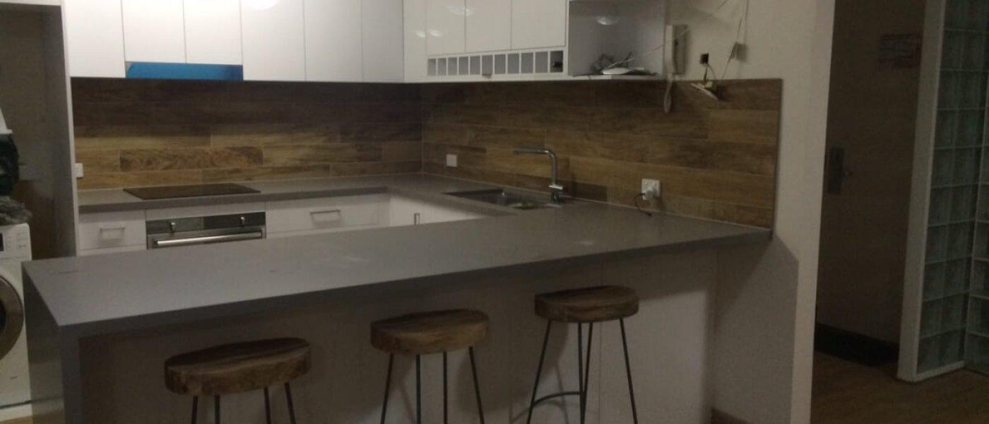 Stylish Apartment Kitchen Sunshine Coast